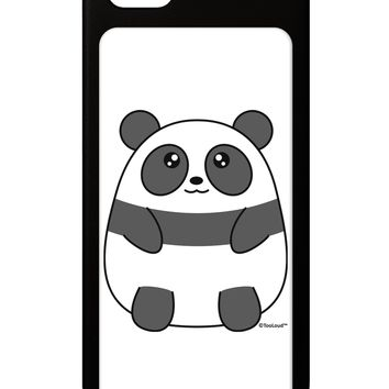 Cute Panda Bear iPhone 5 / 5S Grip Case  by TooLoud
