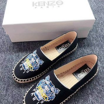 Kenzo Women's Leather Sneakers Shoes