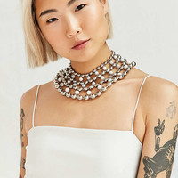 We Who Prey Marble Multiverse Ball Chain Collar Necklace - Urban Outfitters