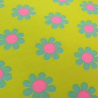 Half Yard Original Fabric Daisy Pop Yellow by BunnyBunnybyPinks