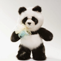 Natural Fur Black and White Bear (Panda)