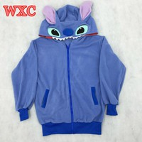 Stitch  Women  Hoodies  Anime  Cosplay  Hooded  Sweatshi
