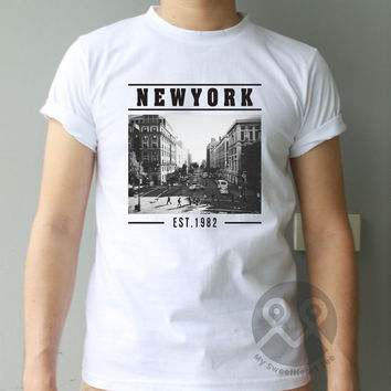 NEWYORK est.1982 hipster tee tumblr t-shirt graphic tee unisex t shirt