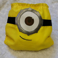 Despicable Me - Minions Cloth Diaper Cover or Pocket Diaper - One-Size or Newborn, S, M, L