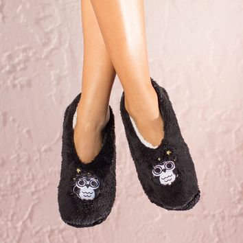 Night Owl Slippers By Faceplant Dreams Medium