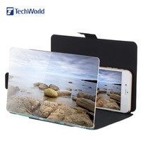 """Portable 8.2"""" Camouflage Enlarge 3 times of Mobile Phone Screen Magnifier Amplifier HD"""