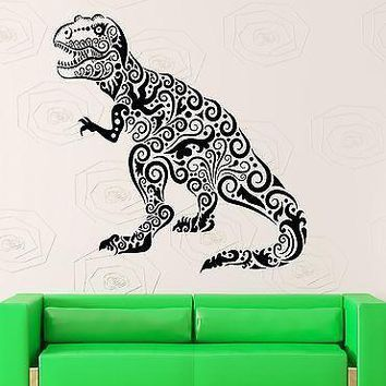 Wall Stickers Dinosaur Kids Room Nursery Children Mural Vinyl Decal Unique Gift (ig1908)