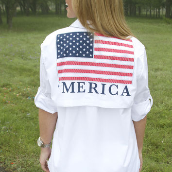 'Merica Fishing Shirt