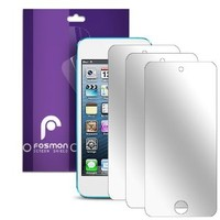 Fosmon Mirror Screen Protector Shield for iPod Touch 5th/6th Generation - 3 Pack