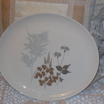 Celestial Fine China Fernwood  Platter / Very hard to find  :)  11 1/2 inches long