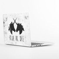 Ride or Die Laptop Skin