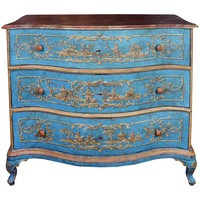 18th Century Italian Painted Chinoiserie Commode