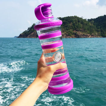 i9 Informed Water Bottle // Glass Bottle // Energy Bottle // Eco-Friendly // Award Winning // Purifying Bottle // Fitness Bottle
