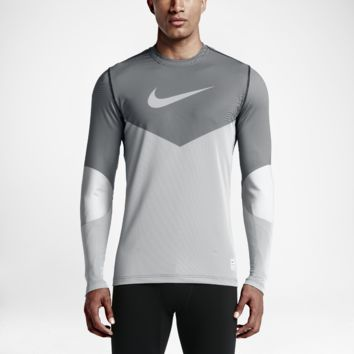 Nike Pro Hyperwarm Line Crew Fitted Men's Shirt