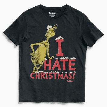 CHRISTMAS GIFT for him Black Grinch T-Shirt men's clothing men's fashion Tshirt Top Shirt gift for him birthday gift for him
