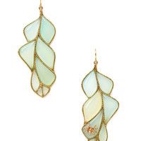 Wisteria Peruvian Calcite Earrings by Anna Ruth Henriques at Gilt