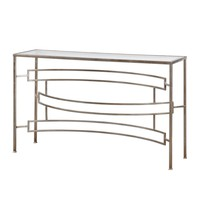 Eilinora Silver Console Table by Uttermost