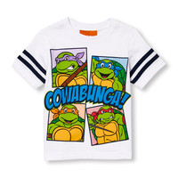 Toddler Boys Short Sleeve Teenage Mutant Ninja Turtles 'Cowabunga' Graphic Tee | The Children's Place
