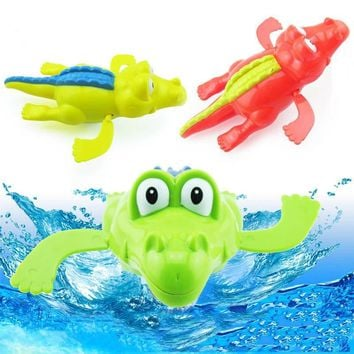 2017 Baby Swim Play Toys Wind-up Animal In The Pool Baby Shower Swiming Pool Bath Toy Pool Accessories For Children Kids Gift