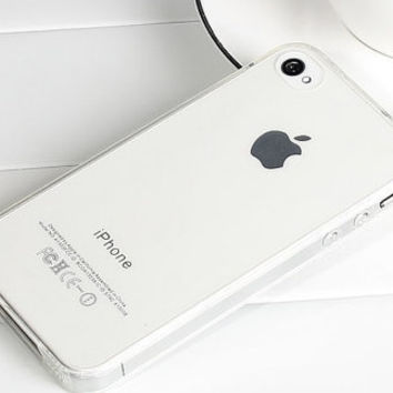 Transparent silicone protective cover for iPhone 4/4S