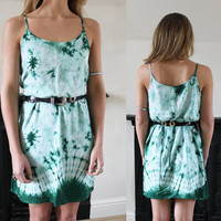 Vintage Tie Dye Summer Dress