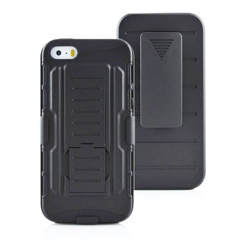 For iphone 6 / plus/ 5/ 4 Future Armor Impact Hybrid Hard Case Cover + Belt Clip Holster Kickstand Stand For iphone6 5S 4S