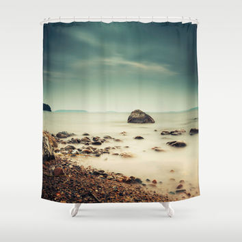 The rebel II Shower Curtain by HappyMelvin