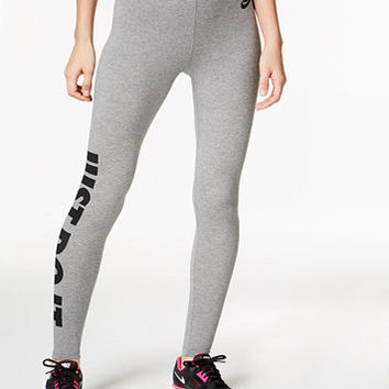 Nike Leg-A-See Just Do It Dri-FIT Leggings | macys.com