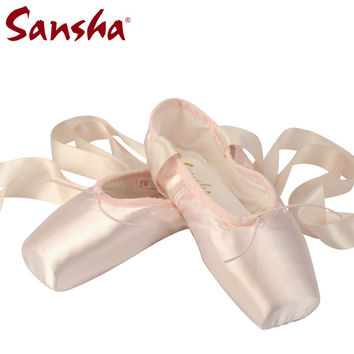 Satin Ballet Shoes on Sales [6916109255]