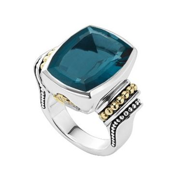 LAGOS 'Caviar Color' Large Semiprecious Stone Ring | Nordstrom
