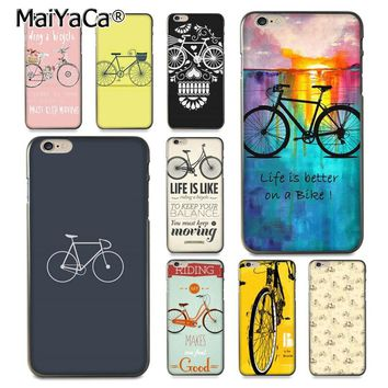 MaiYaCa Just Ride Bicycles Coque Shell Phone Case