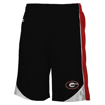 Georgia Bulldogs Vector Shorts - Black