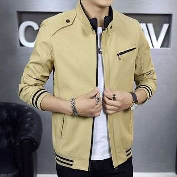Classic Fashion Casual Zipper Jacket