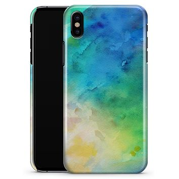 Blushed 493 Absorbed Watercolor Texture - iPhone X Clipit Case
