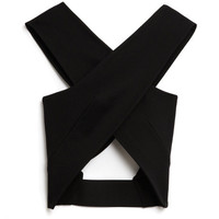 Bandage Wrap Cross Over Top by Josh Goot - Moda Operandi