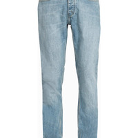 Bleach Wash Vintage Slim Jeans - Jeans - New In - TOPMAN USA