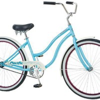 Pacific Cycle Women`s Oceanside Bicycle (Light Blue)