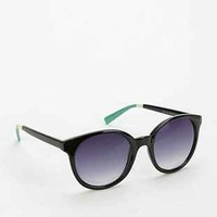 Colorblocked Round Sunglasses - Urban Outfitters