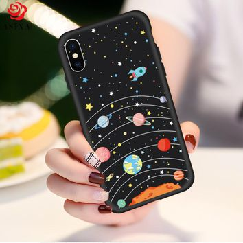 Original Drawings Ultra Thin 3D Cases For iPhone X