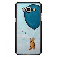 Winnie The Pooh Balloon Fly In Sky Samsung Galaxy J7 (2016) Case  | Aneend.com