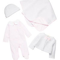 Kate Spade Layette Pink Four-Piece Gift Box