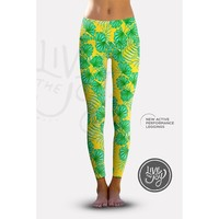 Relaxed Print Legging