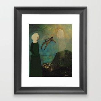 Ascending Framed Art Print by artdestinypsd