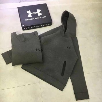 LMNFONH Under Armour Woman Men Fashion Hoodie Top Sweater Pullover