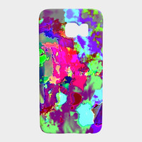 Psychedelic abstract Galaxy S7