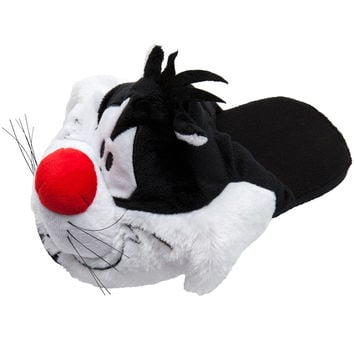 Looney Tunes - Sylvester Plush Juniors Slippers