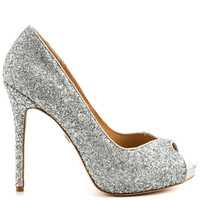 Badgley Mischka - Drama - Pewter Met