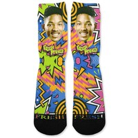 Fresh Prince Custom Athletic Fresh Socks