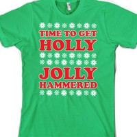 Grass T-Shirt   Funny Christmas Party Shirts