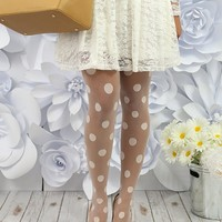 Stand Out in Spots Tights